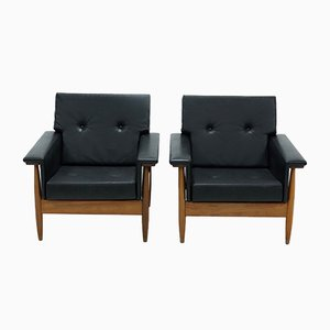 Mid-Century Scandinavian Armchairs, 1960s, Set of 2