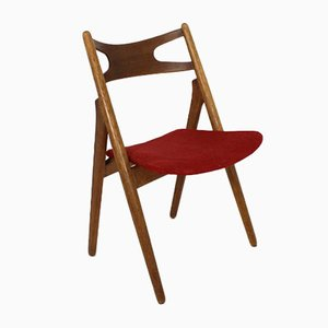 Teak Model Sawbuck CH29 Chairs by Hans J. Wegner for Carl Hansen & Søn, 1960s, Set of 6