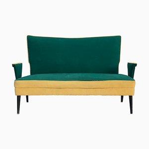 Mid-Century Italian Love Seat Sofa, 1950s