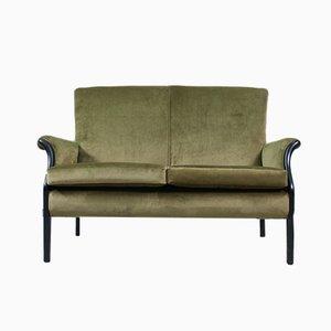 Vintage Samt Sofa von Parker Knoll, 1960er