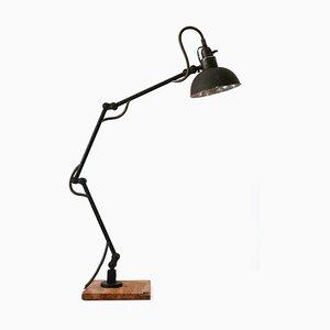 Deutsche Bauhaus Werkstatt Wandlampe, 1920er