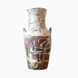 Vaso in ceramica di Jean Derval per Vallauris, anni '50