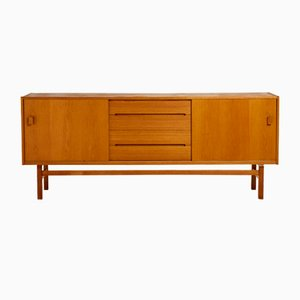 Mid-Century Swedish Oak Model Arild Sideboard by Nils Jonsson for Hugo Troeds