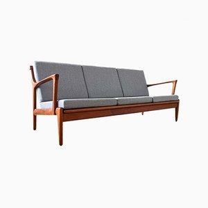 Mid-Century Swedish Model Kuba Sofa by Bertil Fridhagen for Bröderna Andersson, 1960s