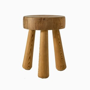 Pinewood Stool by Ingvar Hildingsson for Ingvar Hildingsson, 1960s