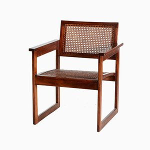 Bauhaus Wooden Armchair, 1920s