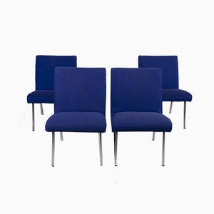 Vostra Grey Fabric Armchairs from Walter Knoll, Set of 4