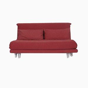 Multy 2-Sitzer Sofa in Rot mit Schlaffunktion von Ligne Roset