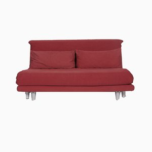 Multy Red Fabric 2-Seat Sofa with Sleeping Function from Ligne Roset