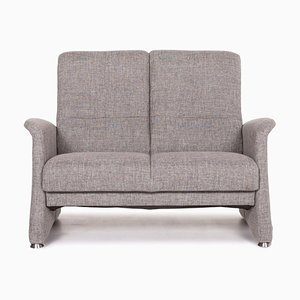 Grey Fabric 2-Seat Sofa from Himolla