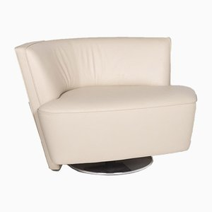 Drift Beige Leather Armchair by EOOS Design for Walter Knoll