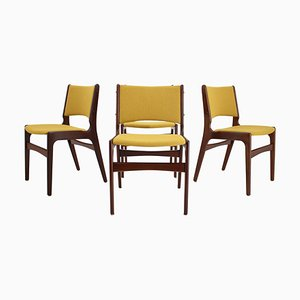 Danish Teak Dining Chairs from Nova Mobler, 1960s, Set of 4