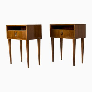 Mahogany Side Tables from Bodafors, 1950s, Set of 2