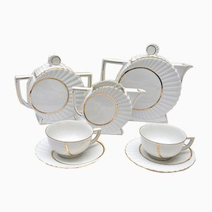 Mid-Century Porcelain Tea Set from Coceram, 1960s