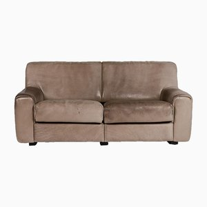 DS 42 Brown Leather 2-Seat Sofa from de Sede