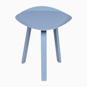 Freestyle Light Blue Footstools from Rolf Benz, Set of 2