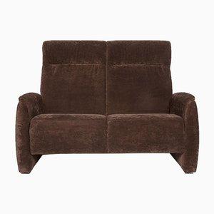 Braunes 2-Sitzer Sofa von Himolla