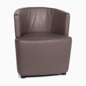 Brown Leather Armchair from Walter Knoll