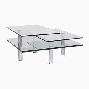 Table Basse Draenert Imperial en Verre par Peter Draenert pour Draenert