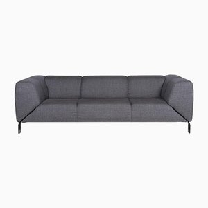 323 Blue Grey Fabric 3-Seat Sofa from Rolf Benz