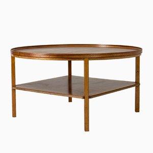 Table Basse en Acajou par Kaare Klint pour Rud. Rasmussen, 1930s