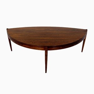Mid-Century Swedish Rosewood Coffee Table by Johannes Andersen for AB Trensums Fåtöljfabrik, 1950s