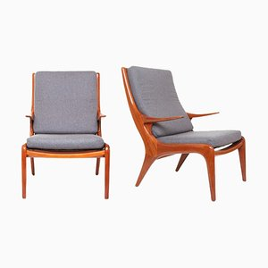 Mid-Century Armchairs from Greaves & Thomas, 1950s, Set of 2
