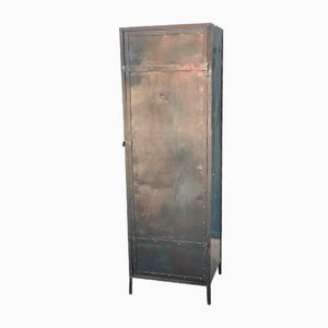 Antique Metal Cabinet