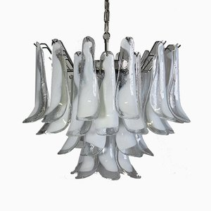 Murano Glass Chandelier from Mazzega, 1987