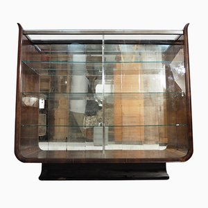 Art Deco Tulip Display Cabinet by Jindřich Halabala for UP Závody, 1930s
