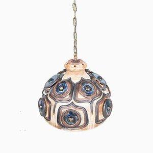 Dänische Keramik Hängelampe von Jette Helleroe für Axella, 1960er