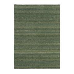 Tappeto Gamba di lana verde oliva di Jan Kath Design