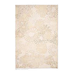 Flach Gewebter Aster Teppich von Asha Design