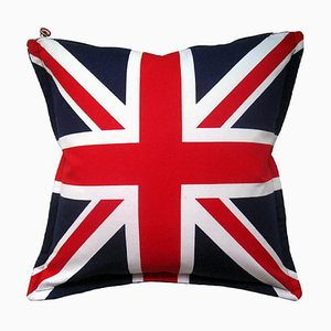 Velvet Flag-Let Cushion, 1990s