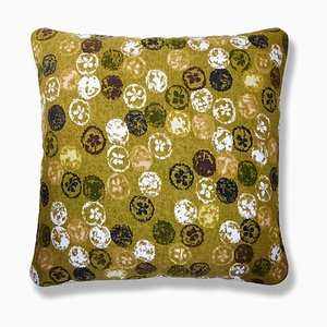 Monoprint Lemon Cushion, 1970s