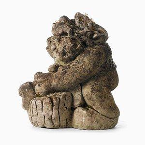 Cement Korrigan Skulptur