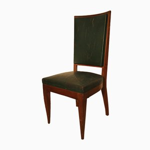 Art Mahogany Dining Chairs, 1920s, Set of 6