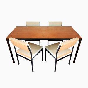 Japanese Series Esszimmerstühle von Cees Braakman für Pastoe, 1960er, 5er Set