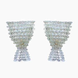 Bedside Lamps from Barovier & Toso, 1940s, Set of 2