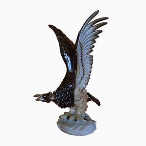 Vintage Porcelain Eagles from Herend, Set of 2