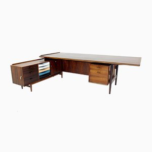 Schreibtische aus Palisander von Arne Vodder für Sibast, Dänemark, 1960er, 2er Set