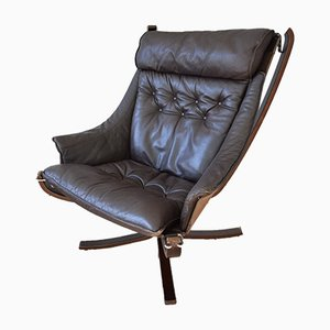 Mid-Century Winged Falcon Chair by Sigurd Ressell for Vatne Møbler, 1970s