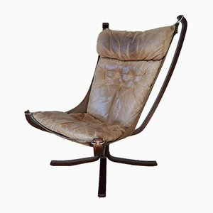 Mid-Century Falcon Chair von Sigurd Ressell für Vatne Møbler, 1970er
