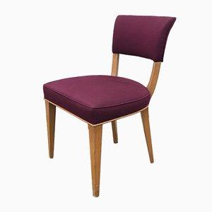 Esszimmerstühle im Art-Deco-Stil, 1950er Jahre, 2er-Set