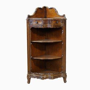 Mid-Century Baroque Style Corner Cabinet