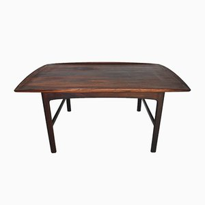Danish Modern Model Frisco Rosewood Coffee Table by Folke Ohlsson for Tingströms, 1960s