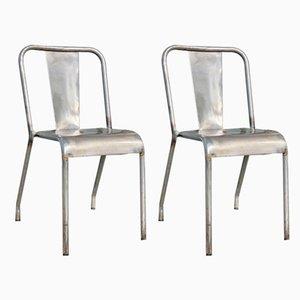 Chaises de Salon T37 de Tolix, 1950s, Set de 2