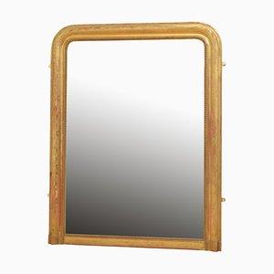 Specchio da parete Luigi Filippo antico dorato