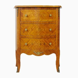 Vintage Louis XV Style Rosewood Chest of Drawers