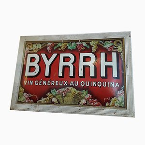 Mid-Century Advertising Plate from Byrrh
